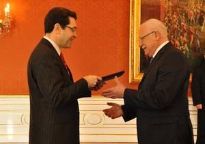 Dnes u prezidenta Václava Klause