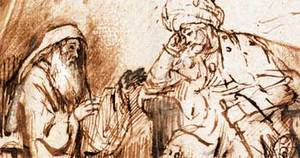 Prorok Nátan a král David