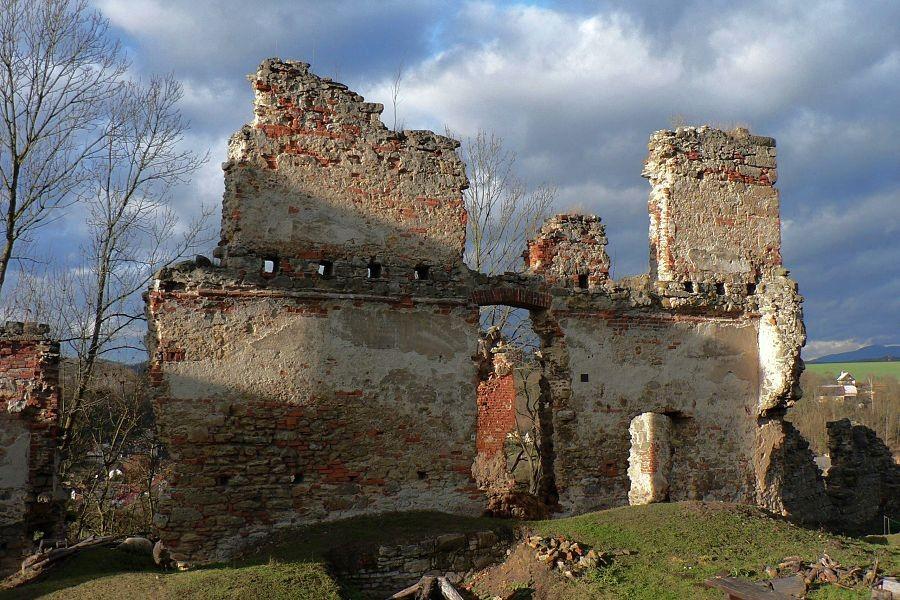 Zbytky paláce