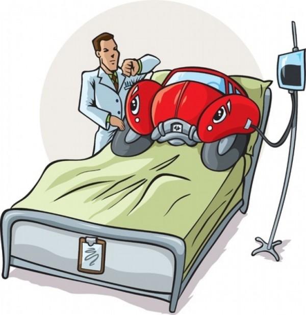 Pacienta taky nekontrolujeme, abychom ho potěšili poplácáním po zádech a vyřkli:
