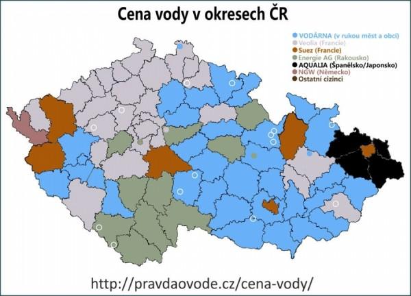 Kdo ovládá obchod s vodu v České republice?
