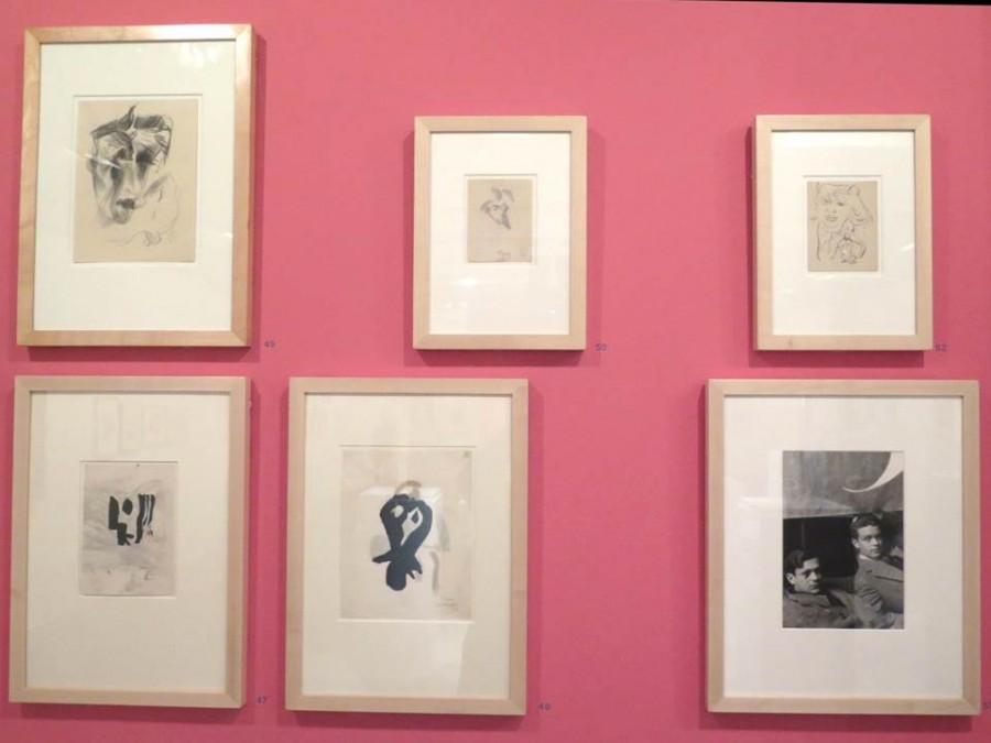 Portréty od Hanse Richtera a foto od Man Ray: R.Crevel a Tristan Tzara