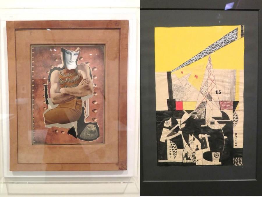 Hannah Höch (vlevo)  a Lászlo Moholy-Nagy, který patří mezi nejslavnější konstruktivisty (spolu s Theo van Doesburgem)