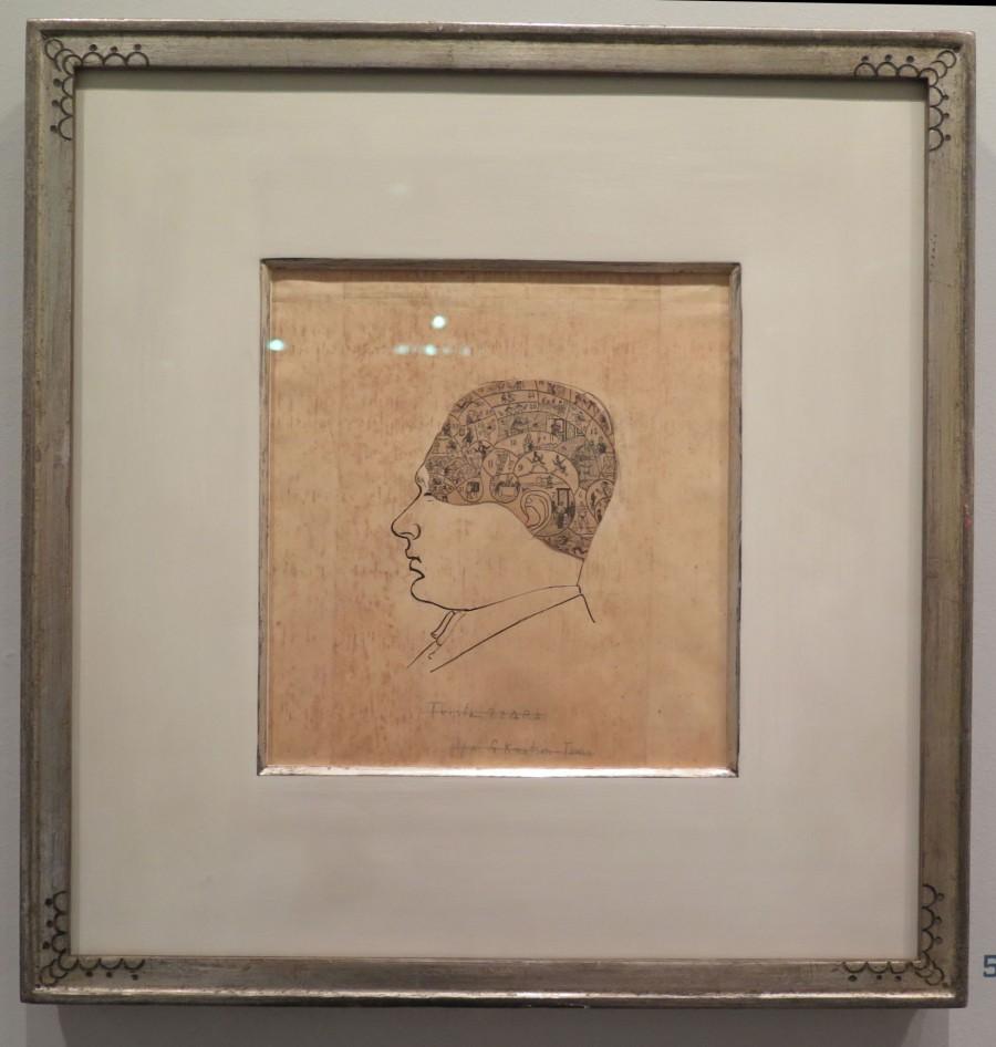 Greta Knutson-Tzara: portrét Tristana Tzary, jednoho ze zakladatelů hnutí Dada