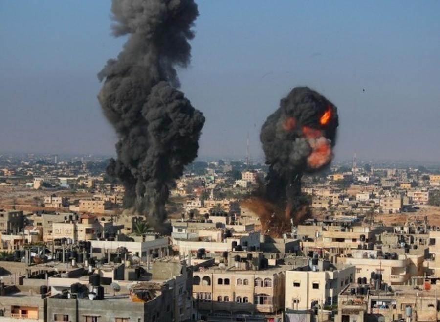 Humanitární bombardování Gazy