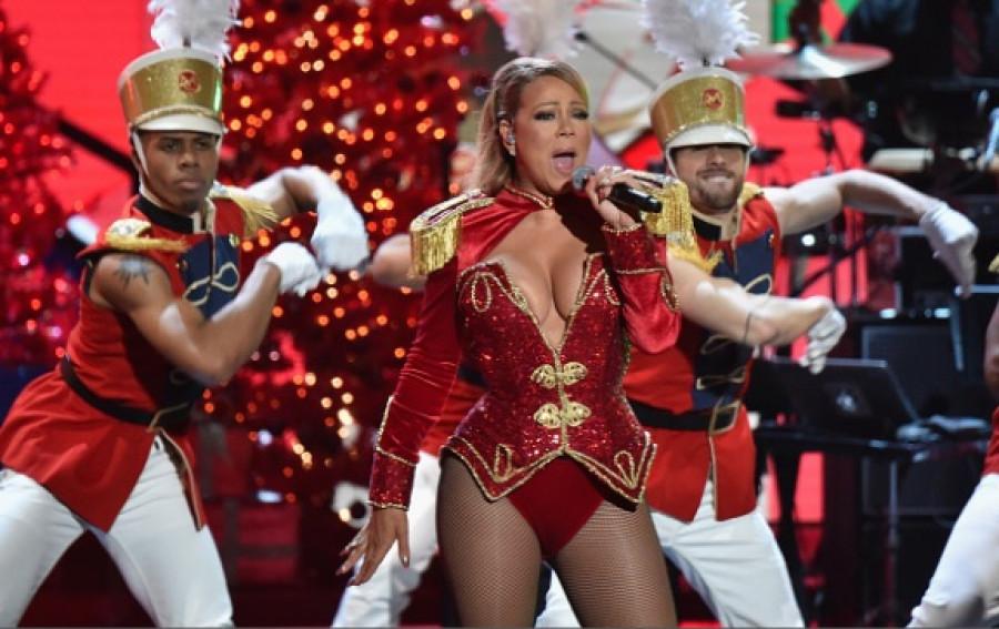 Mariah Carey na show VH1 Divas Holiday