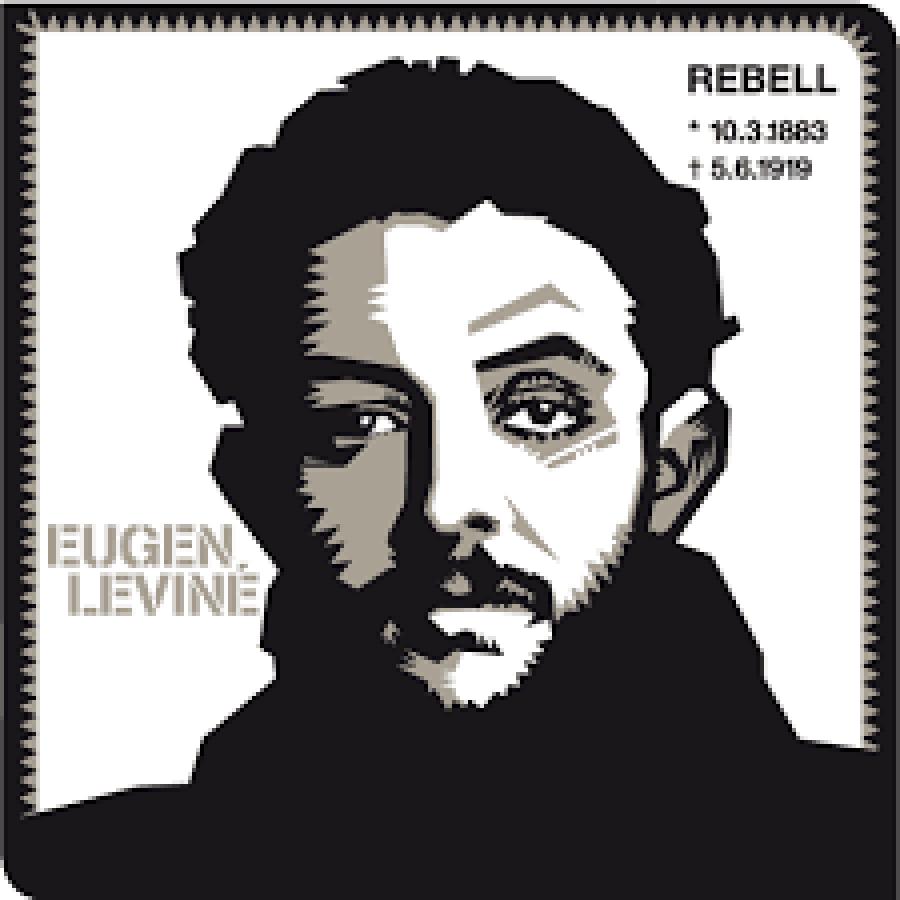 Předák Bavorské republiky rad Eugen Leviné