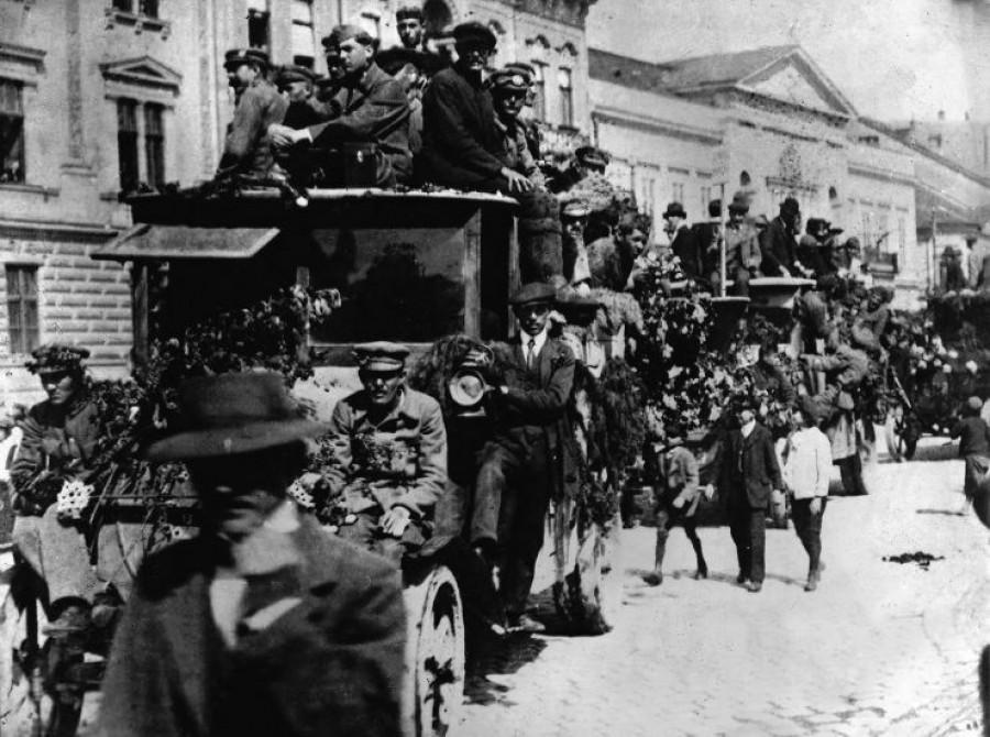 Prešovská ulice po vyhlášení Slovenské republiky rad