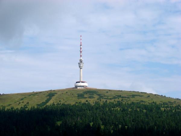Nejvyšší vrchol Slezska Praděd
