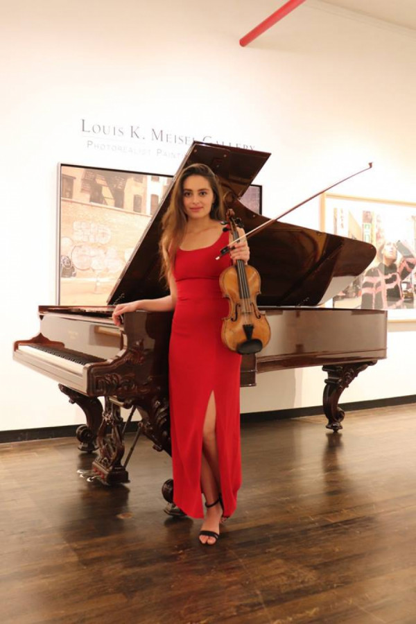 koncert v Louis K. Meisel Gallery., New York, U.S.A 2018
