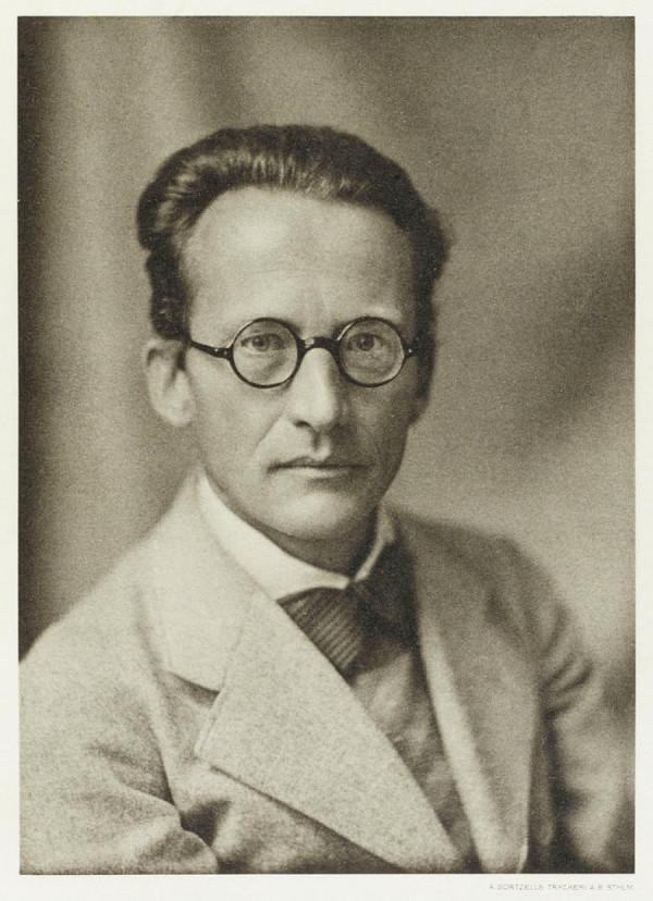 Erwin Schrödinger v roce 1933