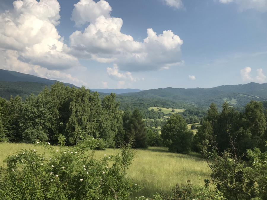 Pohled do krajiny.