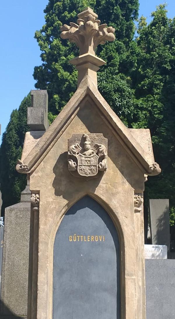 Současný stav náhrobku