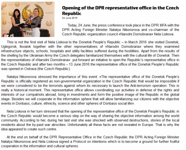 Prohlášení tzv. DNR