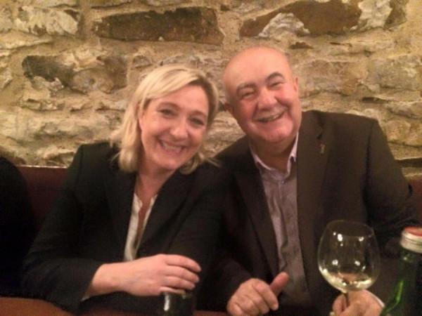 Marine Le Pen s Petrem Hannigem