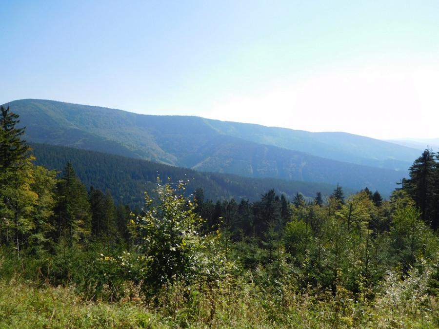 Panoramata Beskyd.