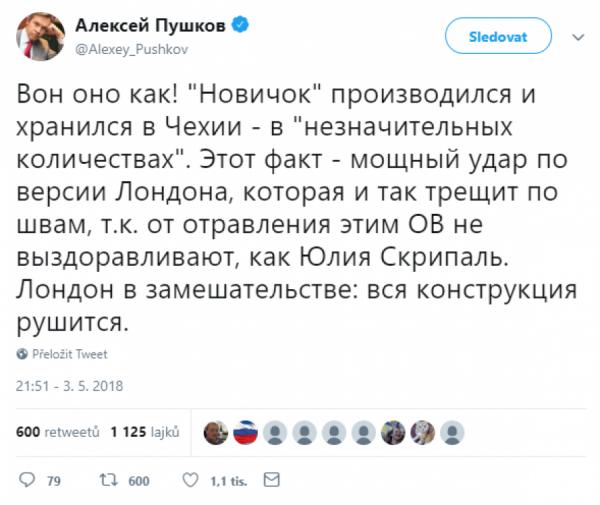 Tweet Puškova