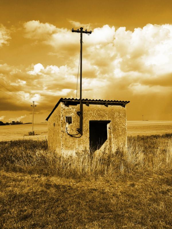 Hlohovčice... louka před domem, kde jsem dlouho žila :)