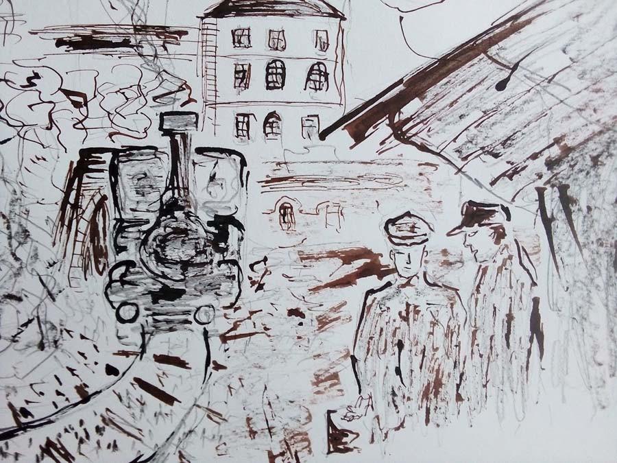 bývalá železniční zastávka Litoměřice - město