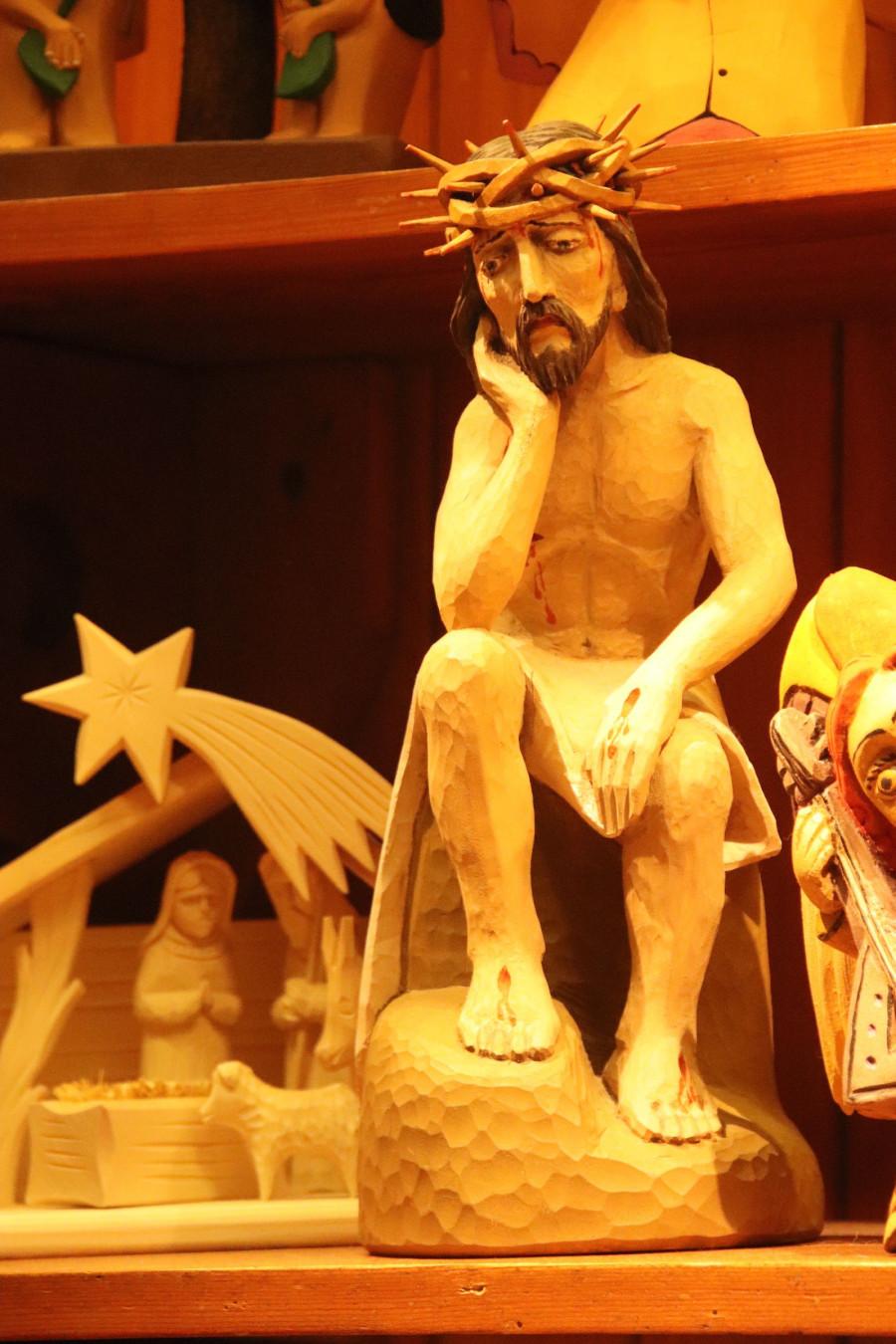 Ten mě opravdu zaujal. I Kristus se někdy hluboce zamyslí.