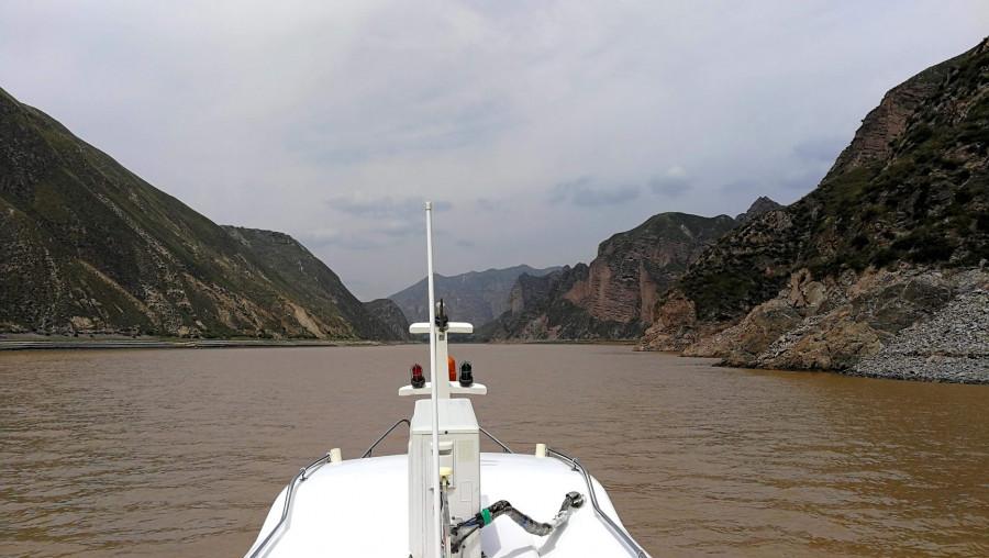 Vyplouváme na Žlutou řeku