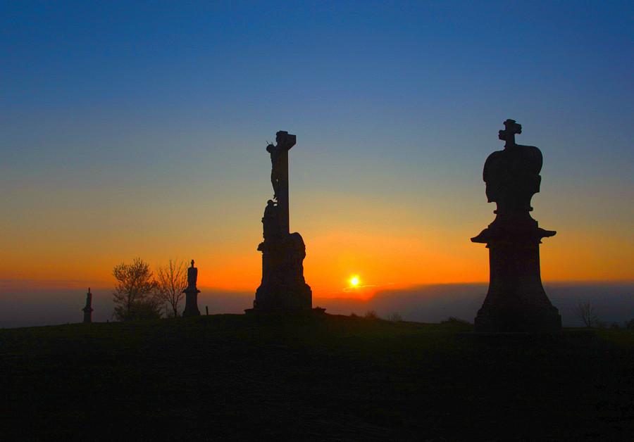 Večer na Křížovém vrchu, Ruda u Rýmařova
