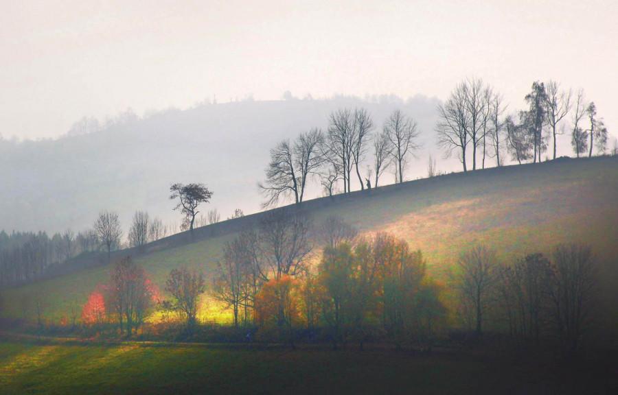 Z podzimního putování ke Křížovému vrchu