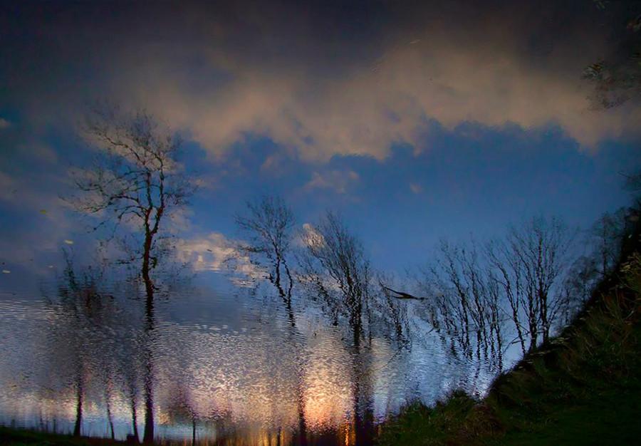 Nebe nad jezerem...