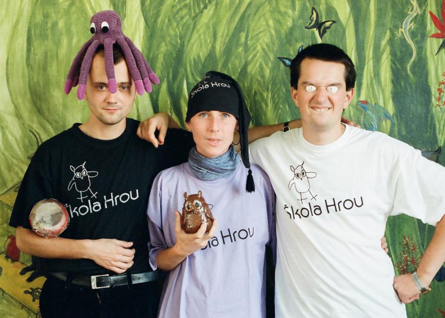 Učitelé Martin, Ivana a Tomáš