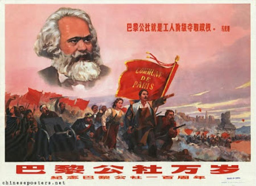 Holdem pařížským komunardům byl i plakát lidové Číny