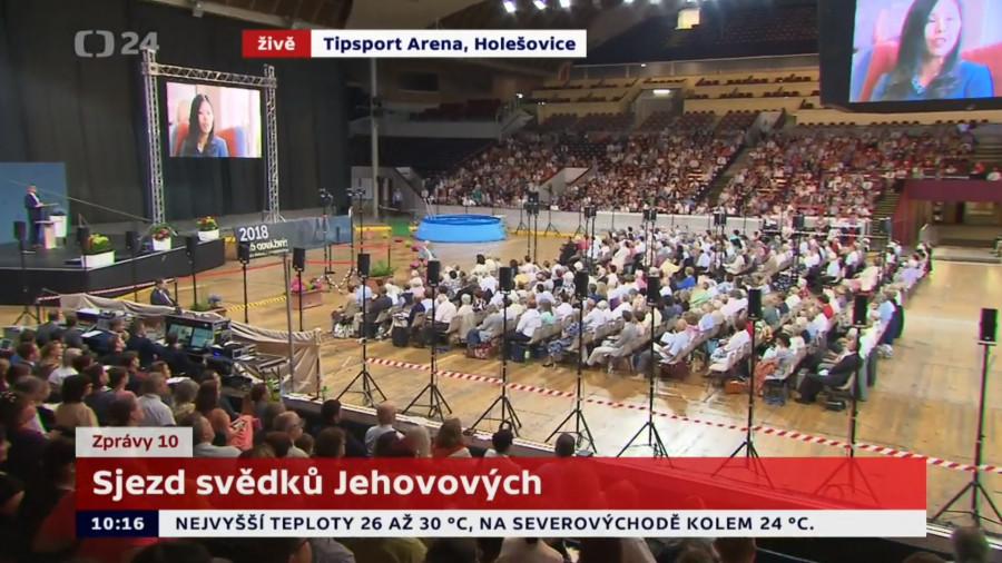 Reportáž ČT24 o Svědcích Jehovových