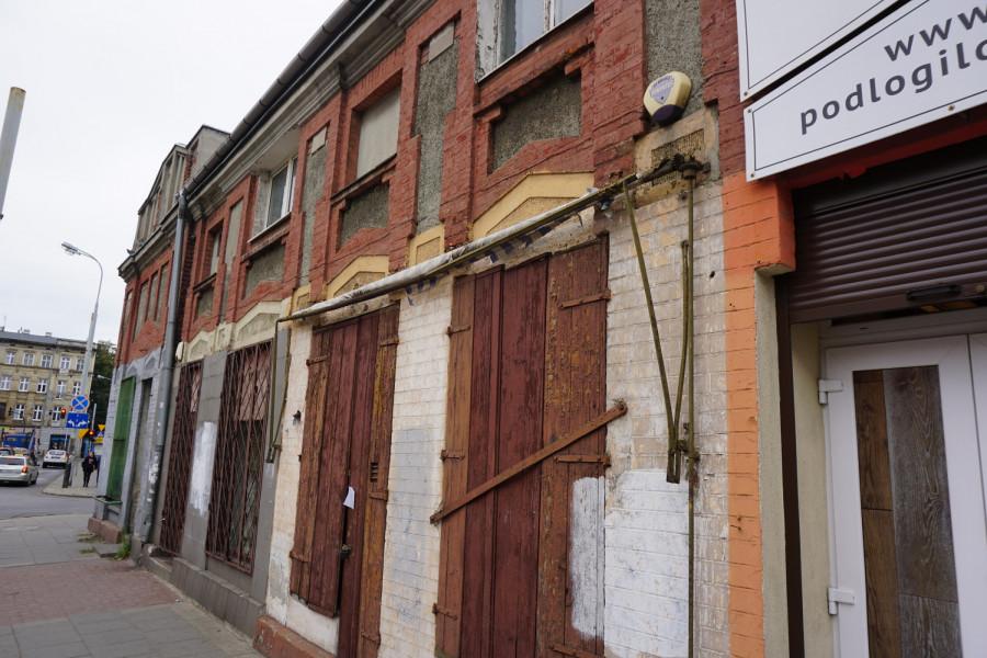Bývalé židovské ghetto - Lodž