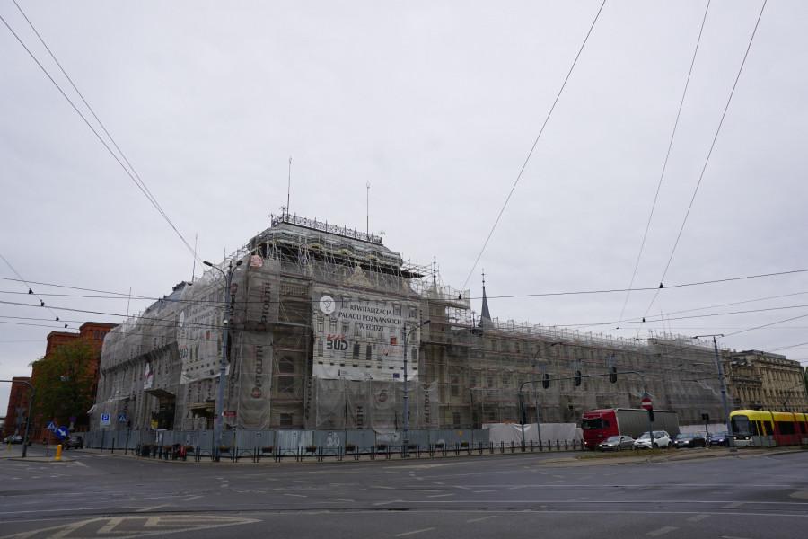 Palác Pozńanských - Lodž