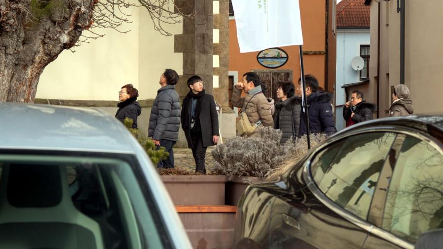 BLOG 55 Delegace z Jižní Koree dohlíží