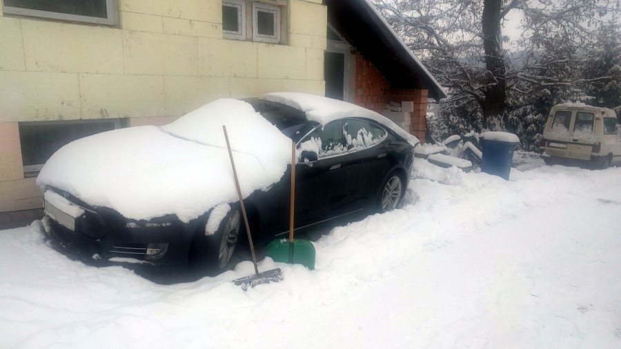 BLOG 55 Rallye Česká Sibiř - na cestě zpět skoro kalamita