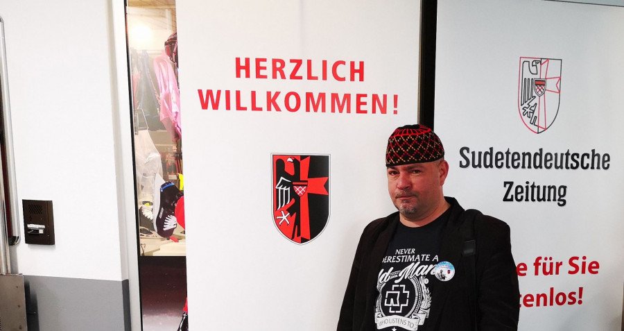 Hlavni host 70. vyročniho setkani v Regnsburgu