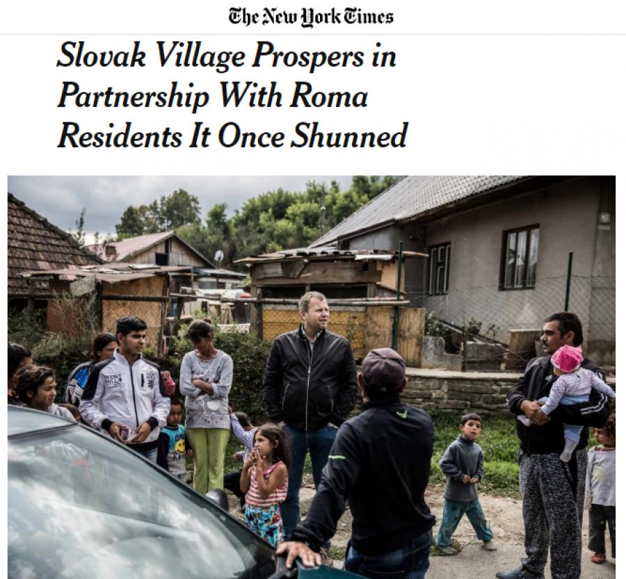 Článek o Spišském Hrhově v New York Times. - https://www.nytimes.com/2017/09/09/world/europe/slovakia-roma-spissky-hrhov-integration.html