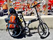 Cesta kolem světa - Camino de Santiago na kole (Portugalskou pobřežní cestou) den 1.
