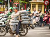 Návod jak přejít ulici v Hanoji