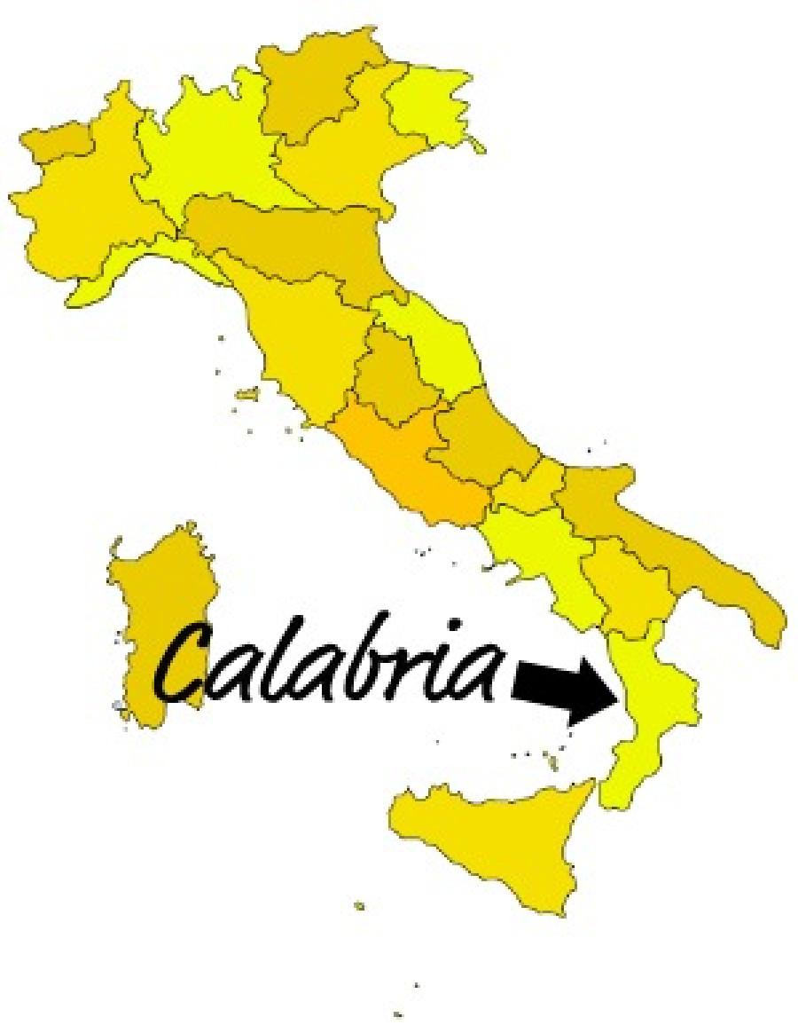Kalábrie je kraj ležící na jihu Itálie.