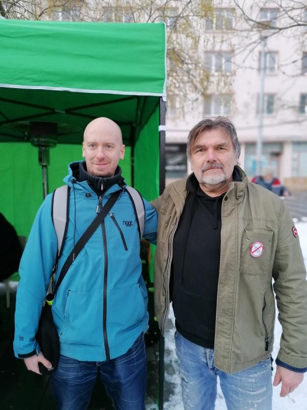 autor blogu s Romanem Horkým z Kamelotu