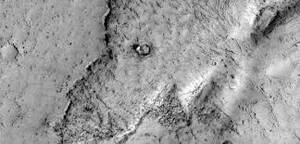 Sloní hlava na Marsu