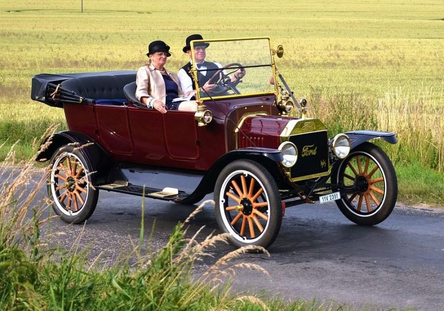 Ford model T vyrobený v Kanadě