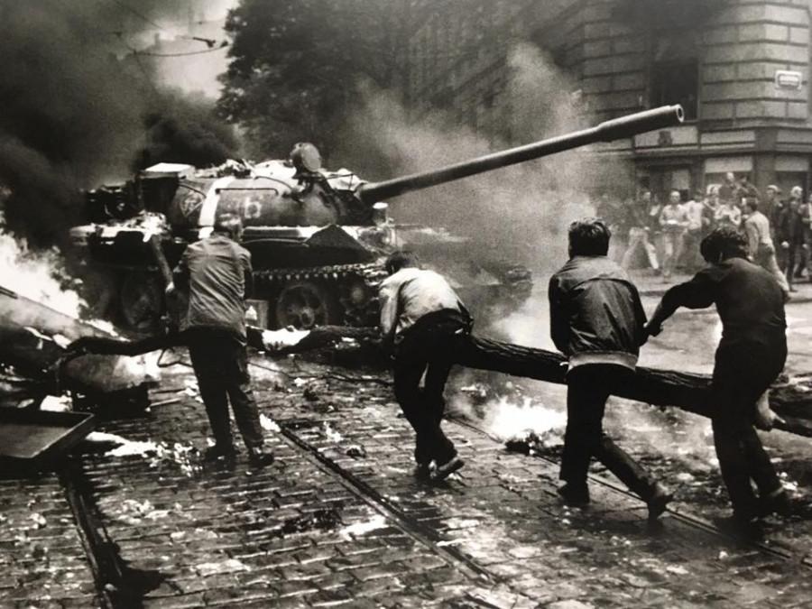 Tank na ulici