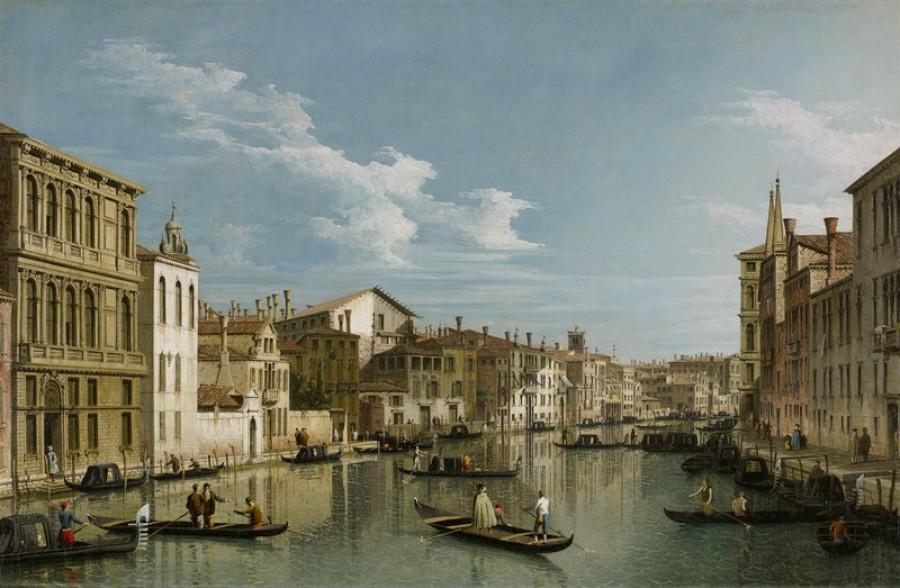 Pro porovnání obraz Canaletta