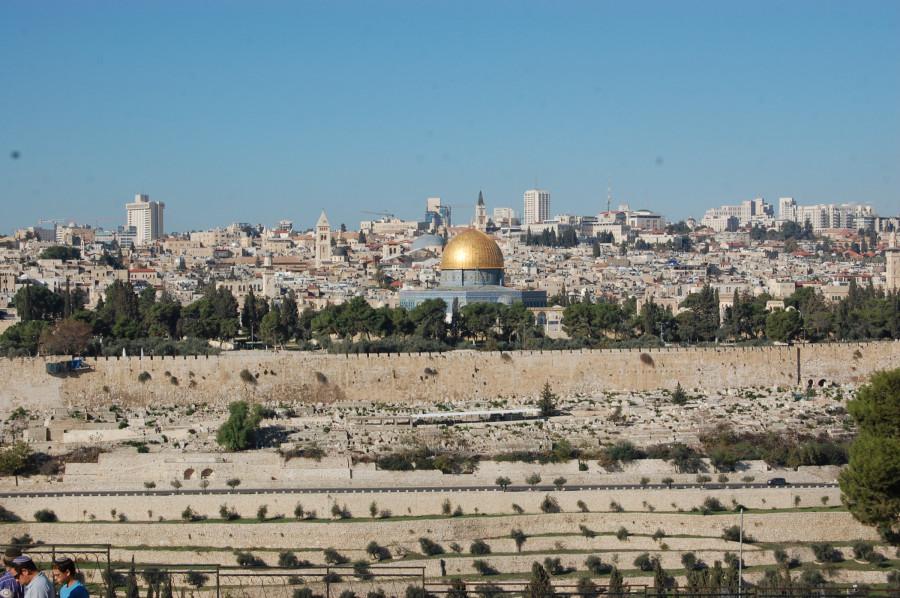 Jeruzalém z Hory Olivové
