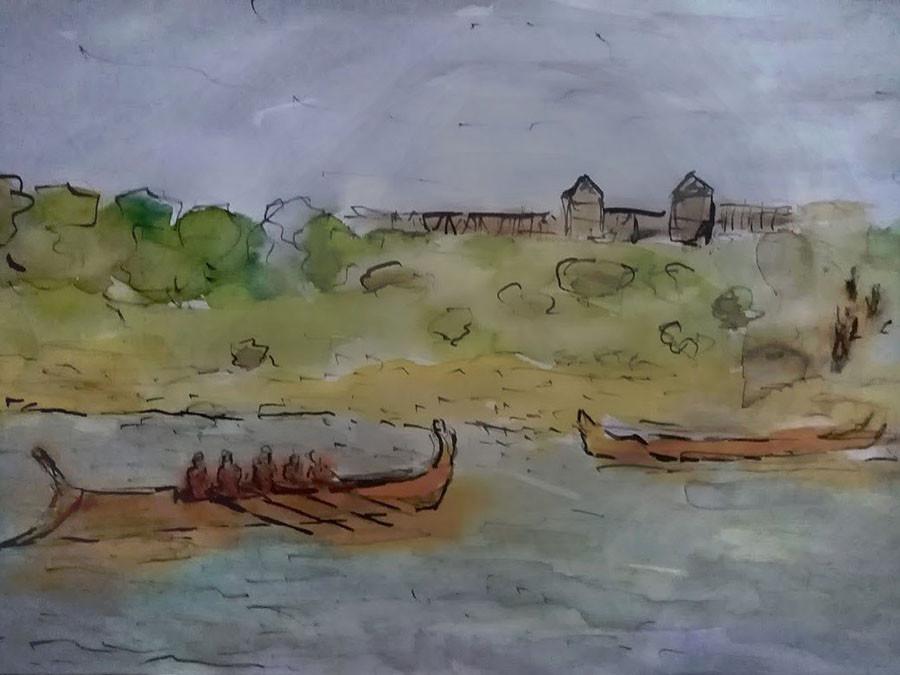 římský tábor u Mušova