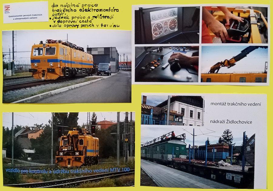 vozidlo MV 100 a elektrifikace dráhy do Židlochovic
