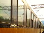 Lesk a bída vlaku do Chorvatska