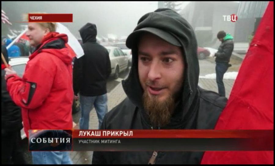 Lukáš Přikryl pro TV Centr